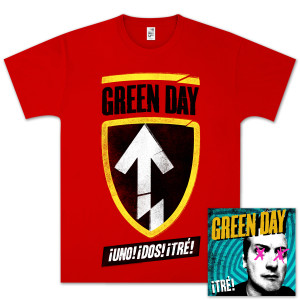 Green Day ¡TRE! Gold Bundle