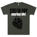 Green Day Idiot Army T-Shirt