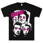 Green Day Patchwork T-Shirt
