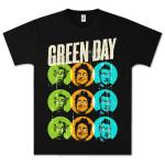 Green Day On The Dot T-Shirt - Black