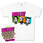 Green Day Connect Three Tour T-Shirt