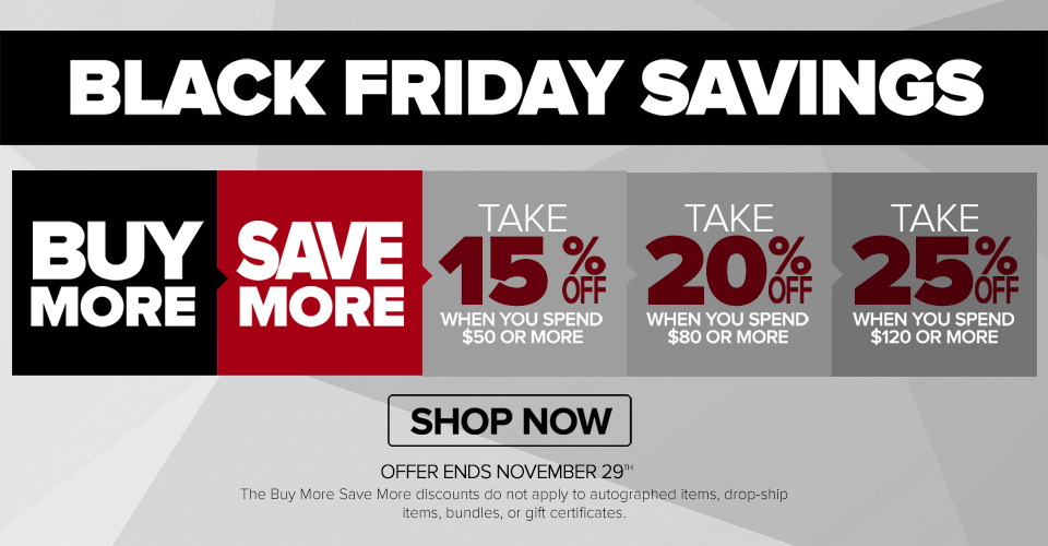 Black Friday Savings 2015