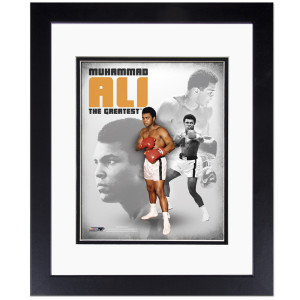 Ali The Greatest Framed & Matted Presentation