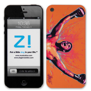 Muhammad Ali Loud N Proud iPhone 5 Skin