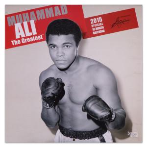 Muhammad Ali 2015 18 Month Wall Calendar