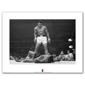 "Ali Over Liston Print (24""x32"")"