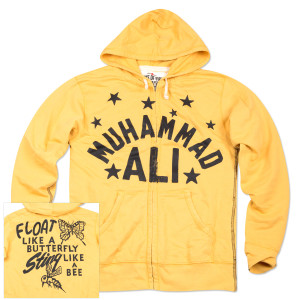 Ali Float Like a Butterfly Hoodie 2.0