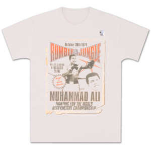 Muhammad Ali - Rumble in the Jungle Poster Tee
