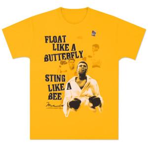Muhammad Ali - Float Like a Butterfly Tee