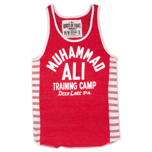 Ali Training Camp Triblend Striped Tank