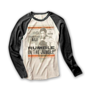 ALI Rumble in the Jungle L/S T-Shirt by Under Armour
