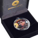 "Muhammad Ali ""Holding the Olympic Tourch"" Colorized Half Dollar Coin"