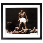 Ali Autographs - Ali Over Liston Print