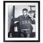 Ali Autographs - 1960 Olympics Heavy Bag Print