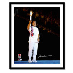 Ali Autographs - 1996 Olympic Torch Print