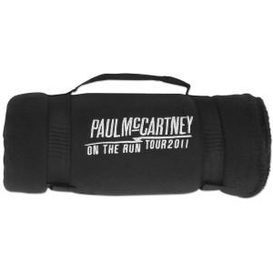 Paul McCartney Headstock Stadium Blanket
