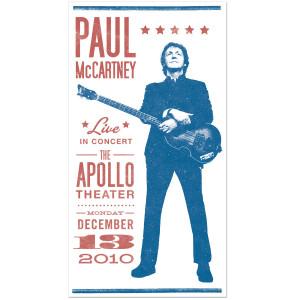 Paul McCartney Classic Showbill Litho