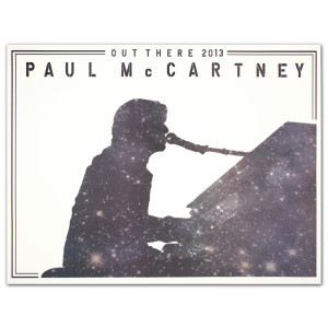 Paul McCartney Piano Galaxy Lithograph