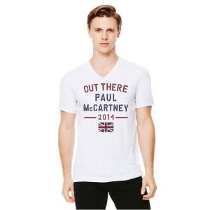 Paul McCartney Sport Arch V-Neck T-Shirt