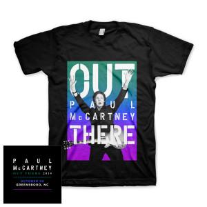 Paul McCartney Twilight Event Greensboro T-Shirt
