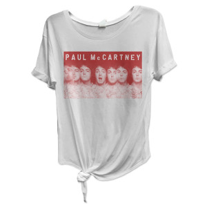 Paul McCartney Many Faces of Paul Knot Tee