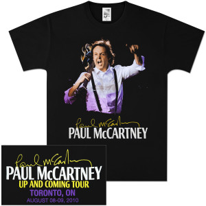 Paul McCartney Up and Coming Event T-Shirt - Toronto