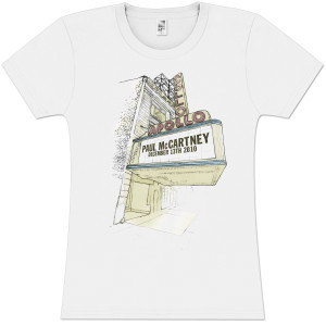 Paul McCartney Marquee Sketch Girlie T-Shirt