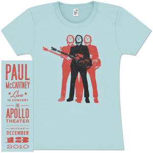 Paul McCartney 3P Warhol Girlie T-Shirt