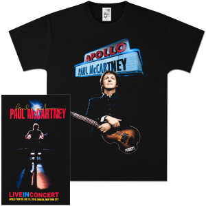 Paul McCartney Apollo Event T-Shirt