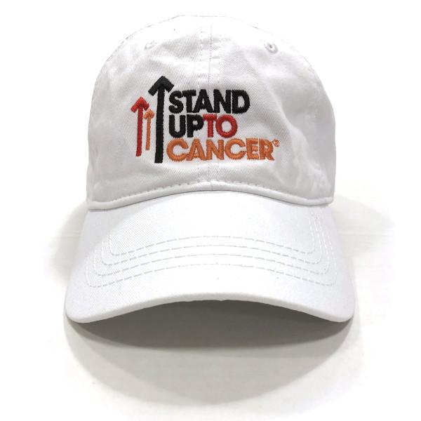 8e568520b30 SU2C Full Logo Baseball Hat (White)