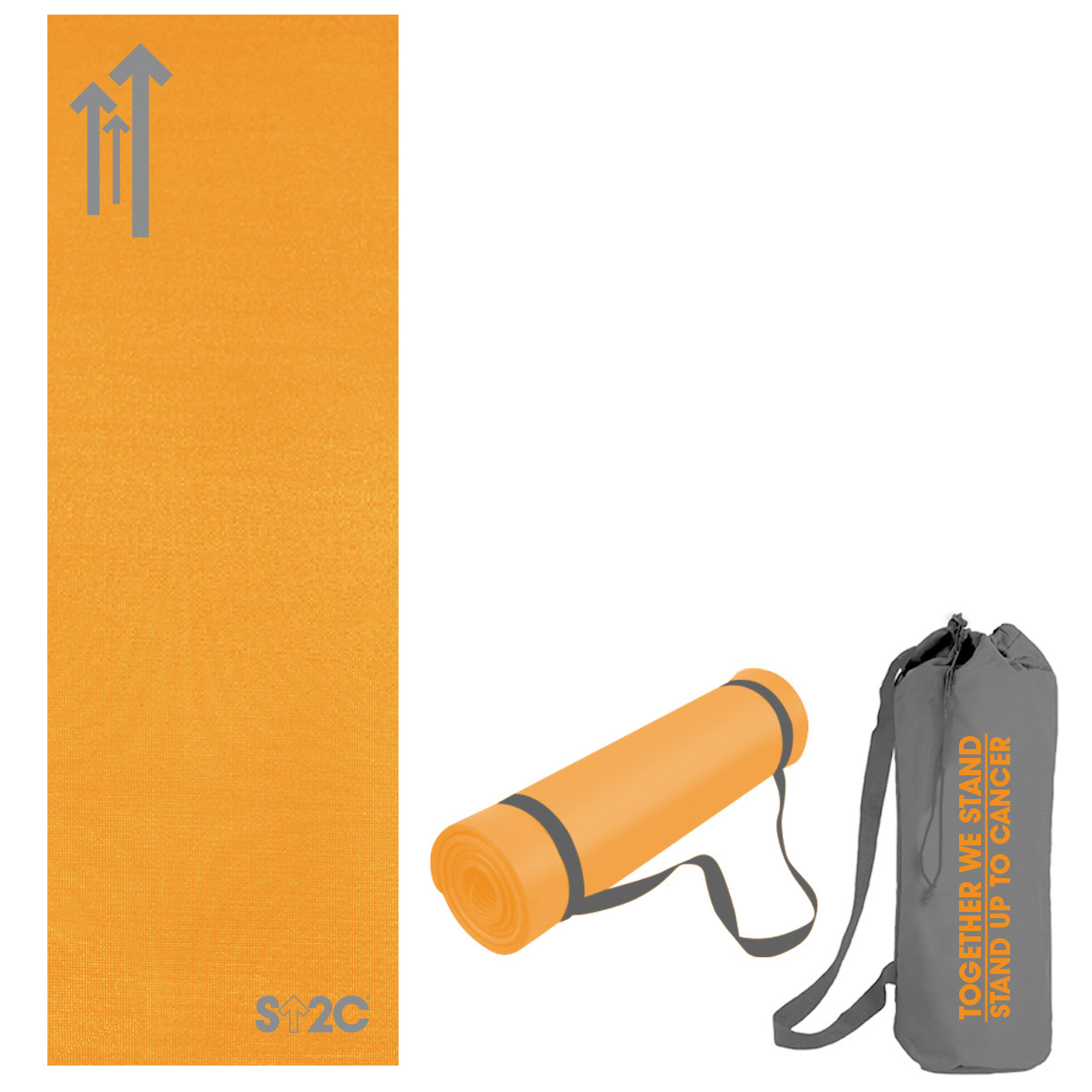 "SU2C 72"" Yoga Mat, Strap and Carrying Case"