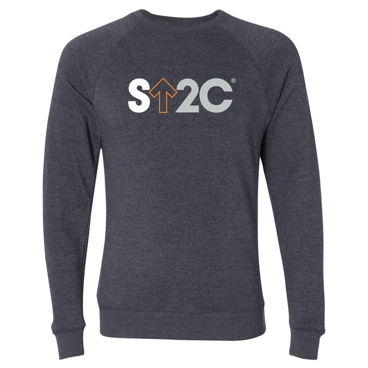 SU2C Men's Short Logo Pullover, Midnight Navy