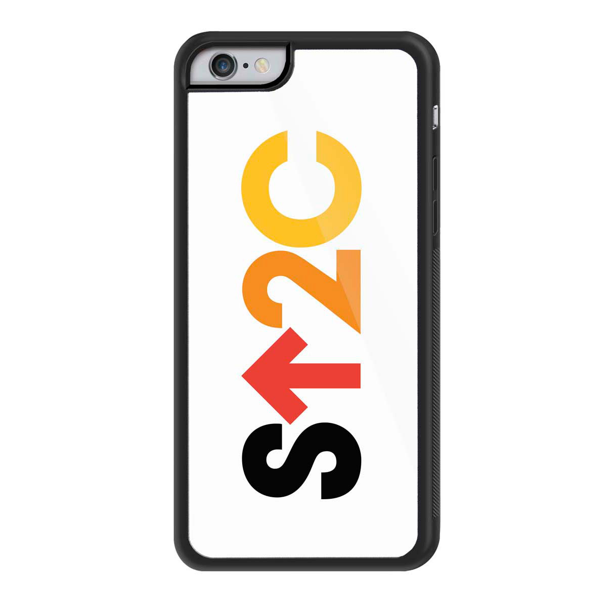 SU2C iPhone 6 cover, Short Logo White Background