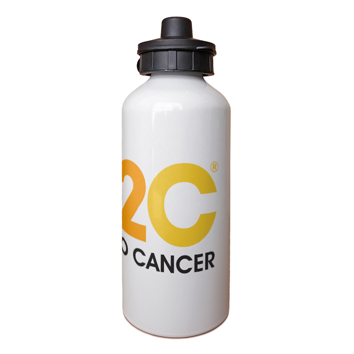 SU2C Short Logo Aluminum Water Bottle
