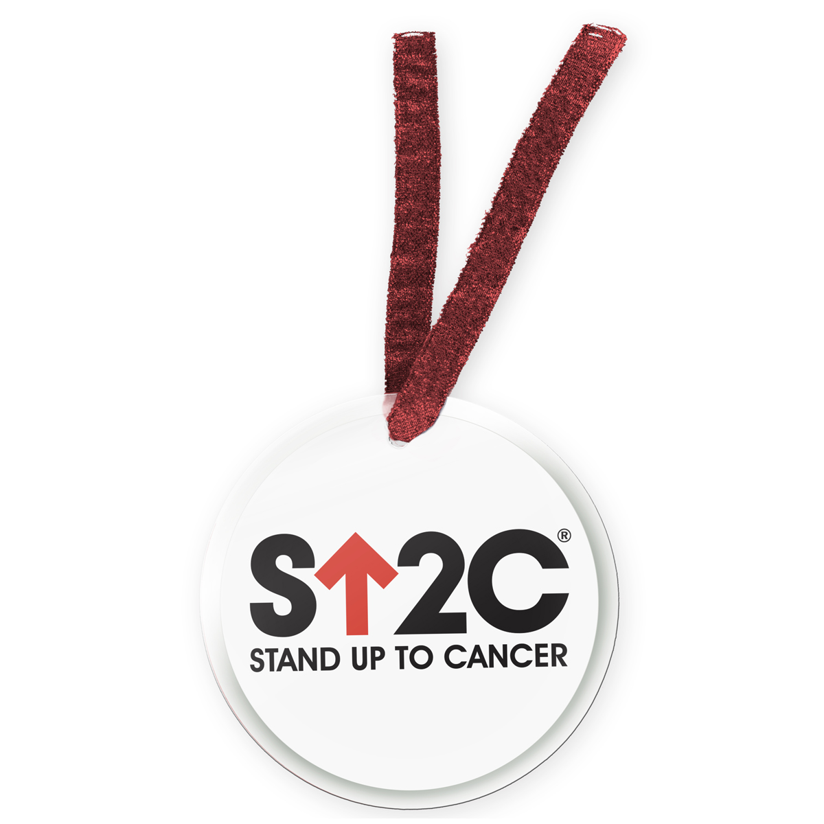 SU2C Short Logo Red Arrow Ornament