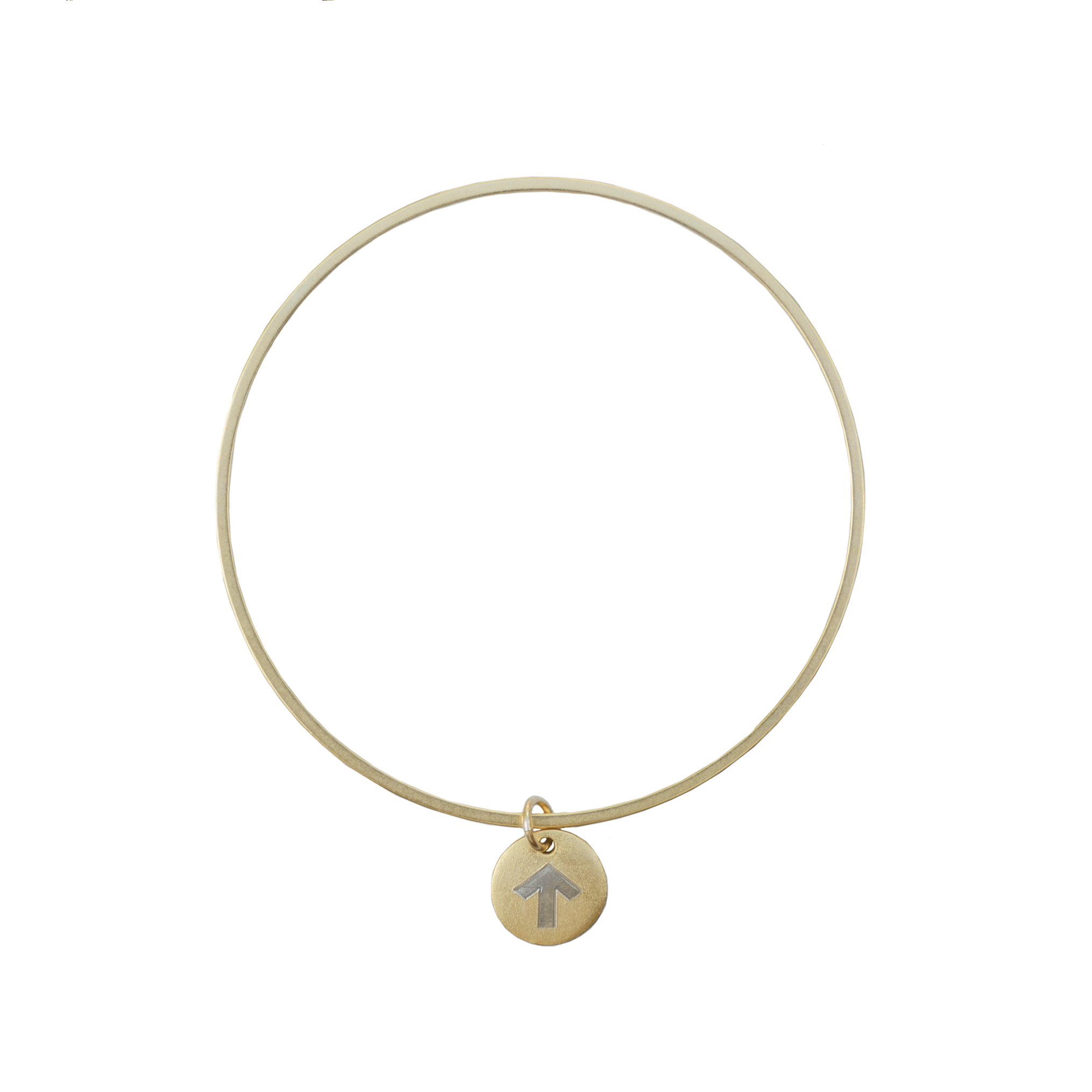 Golden Thread Heroic Strength Bangle