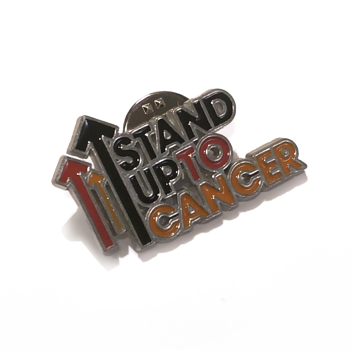 Stand Up To Cancer Full Logo Enamel Pin