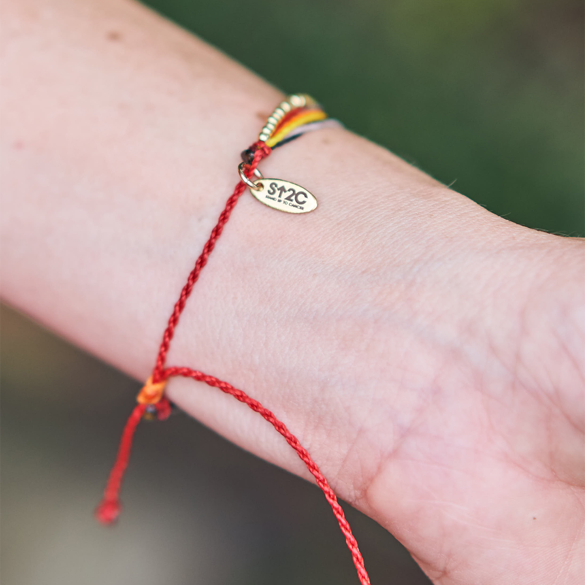 Golden Thread Cords of Strength Bracelet