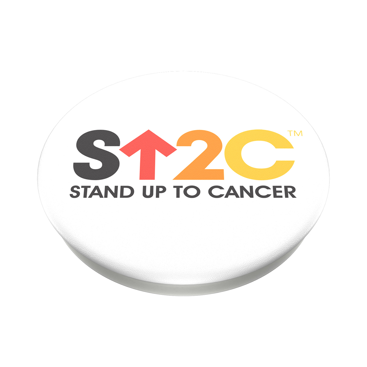 SU2C Short Logo PopSocket (White)