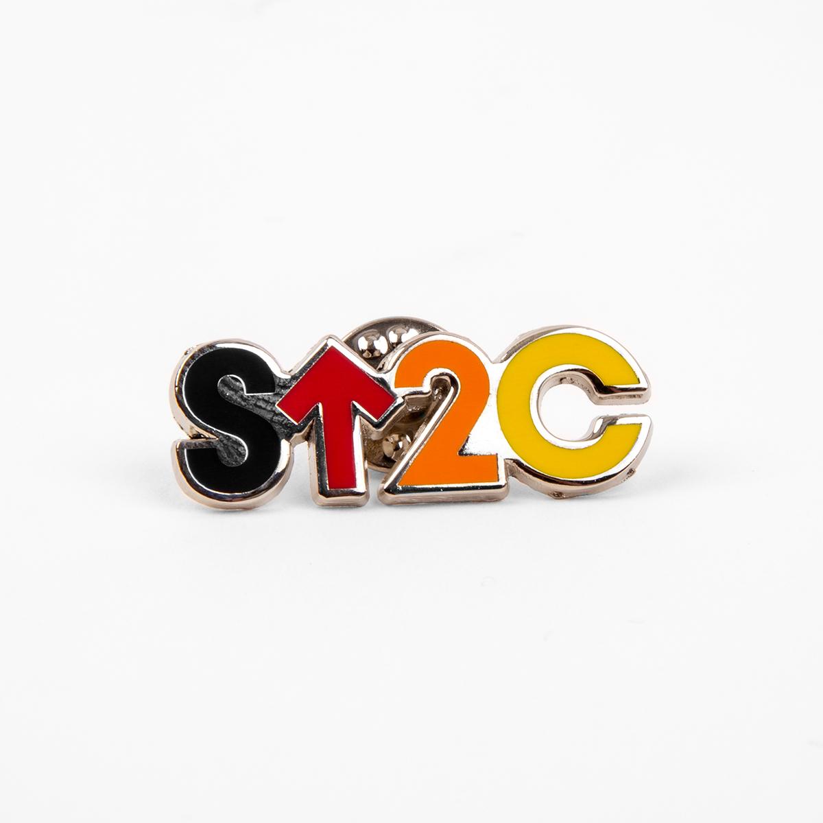 SU2C Short Logo Enamel Pin