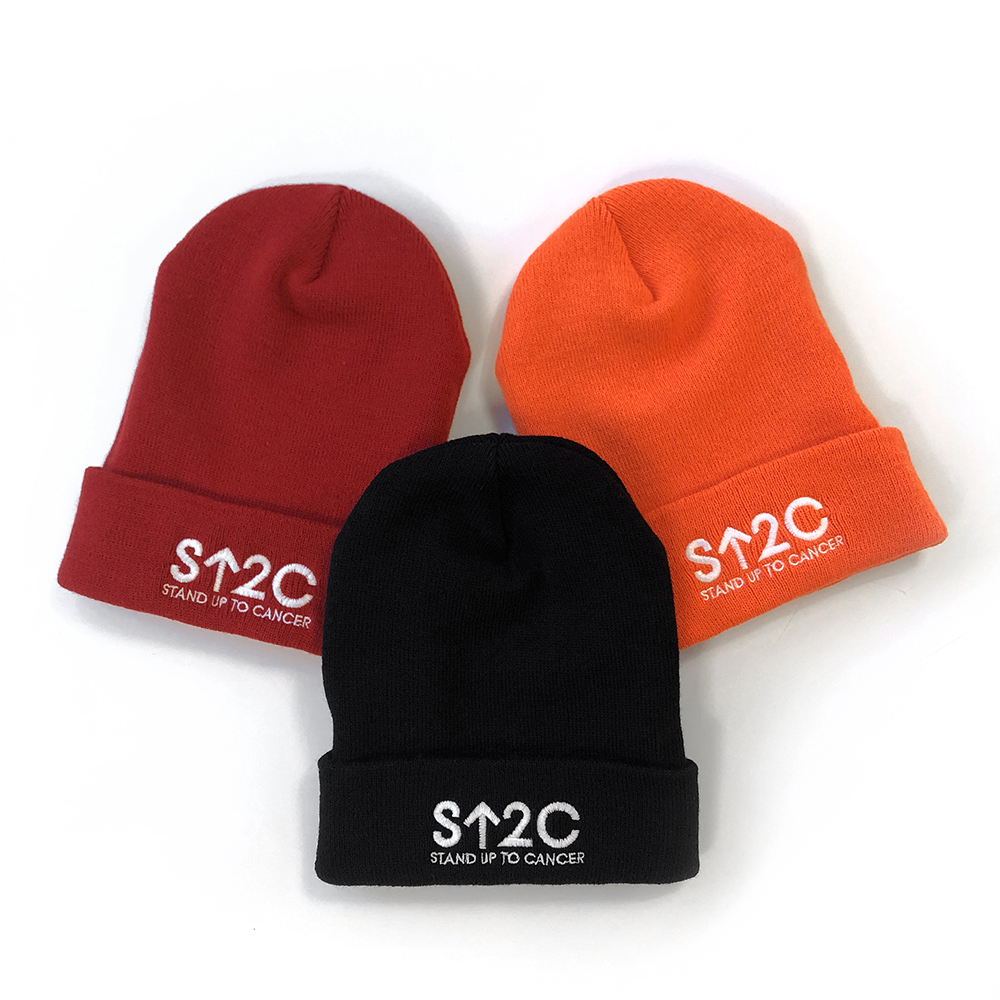 SU2C Short Logo Beanie (Orange)