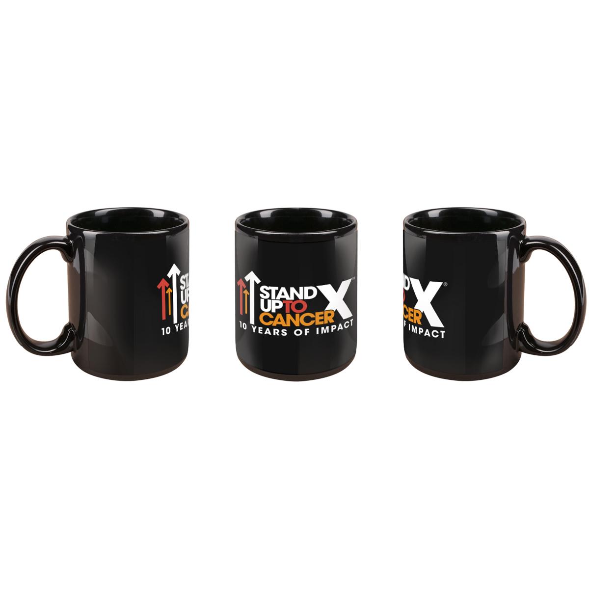 SU2C 10th Year Logo Mug (Black)