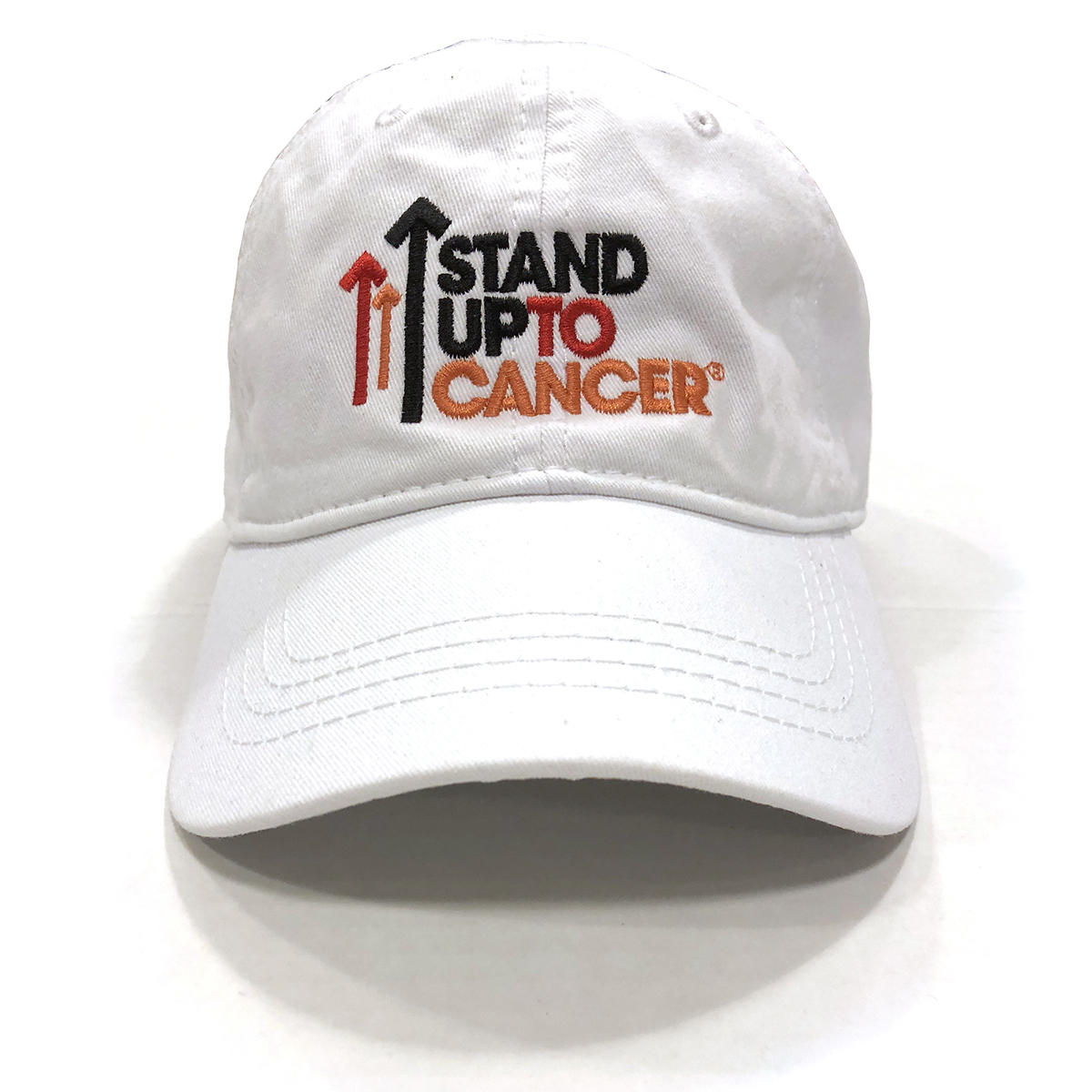 SU2C Full Logo Baseball Hat (White)