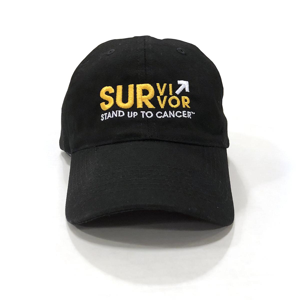 SU2C Survivor Baseball Hat (Black)