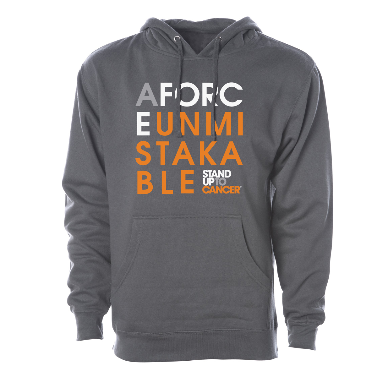 SU2C Force Unmistakable Pullover Hoodie