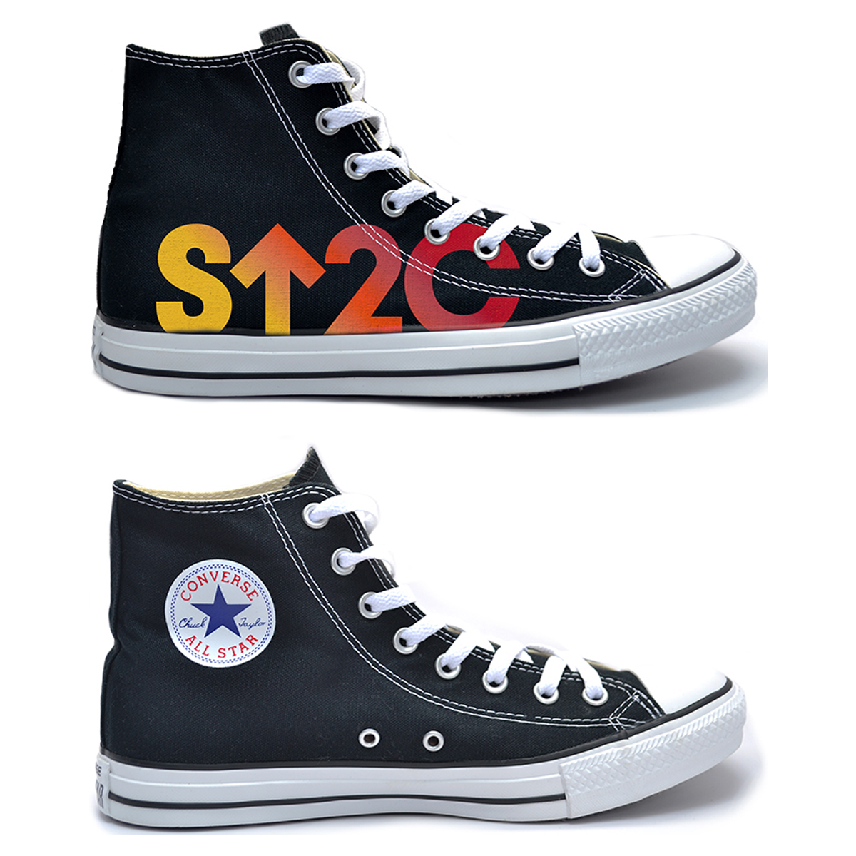 SU2C Sunrise Converse All-Star High Top