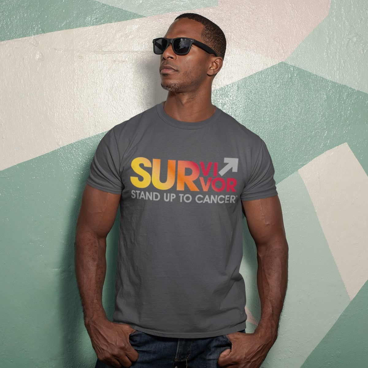 SU2C Survivor Sunrise Unisex T-shirt