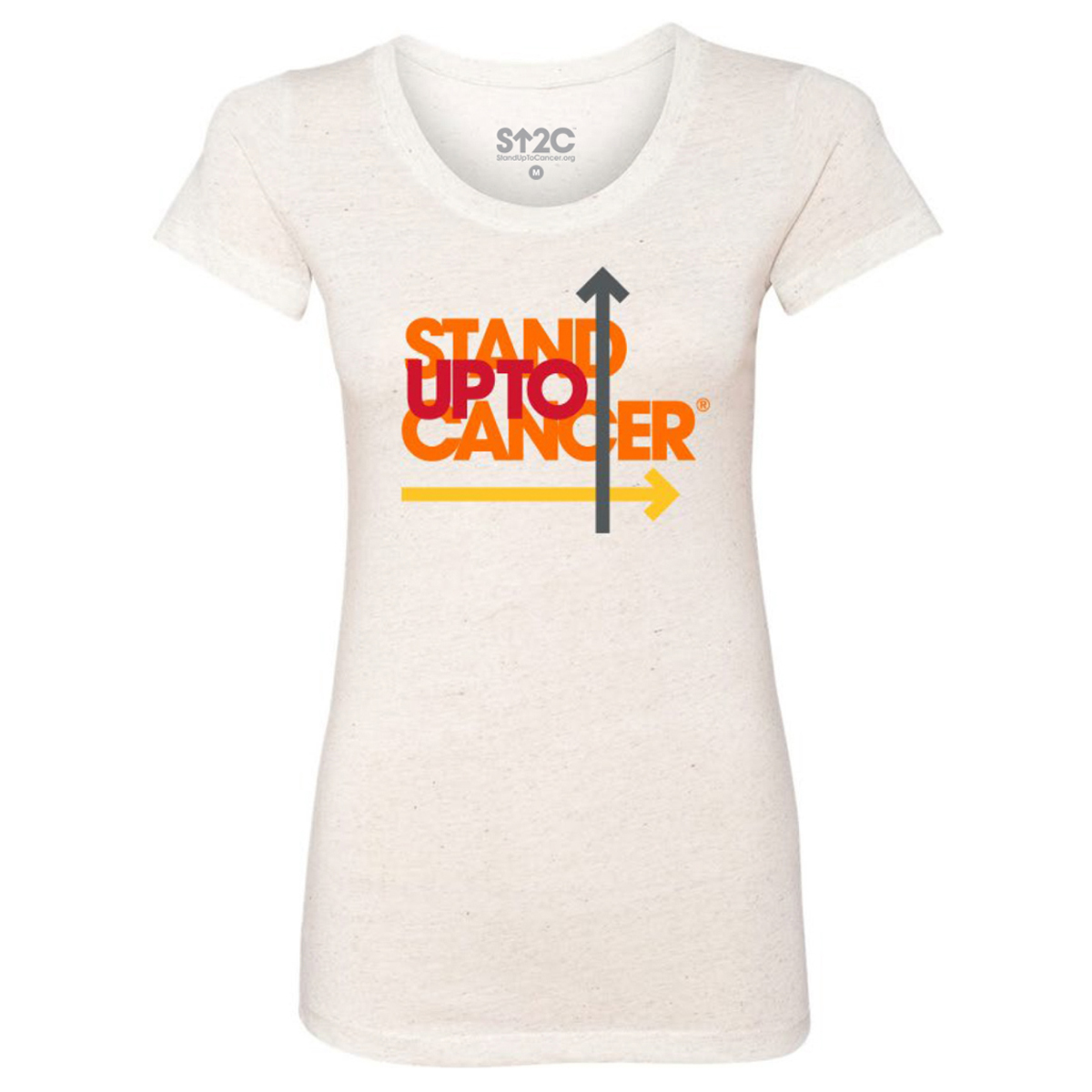 SU2C Full Logo Triblend Women's T-Shirt, Oatmeal