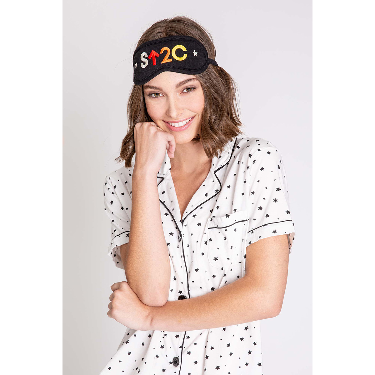 P.J. Salvage x Stand Up to Cancer PJ Set w/ Mask