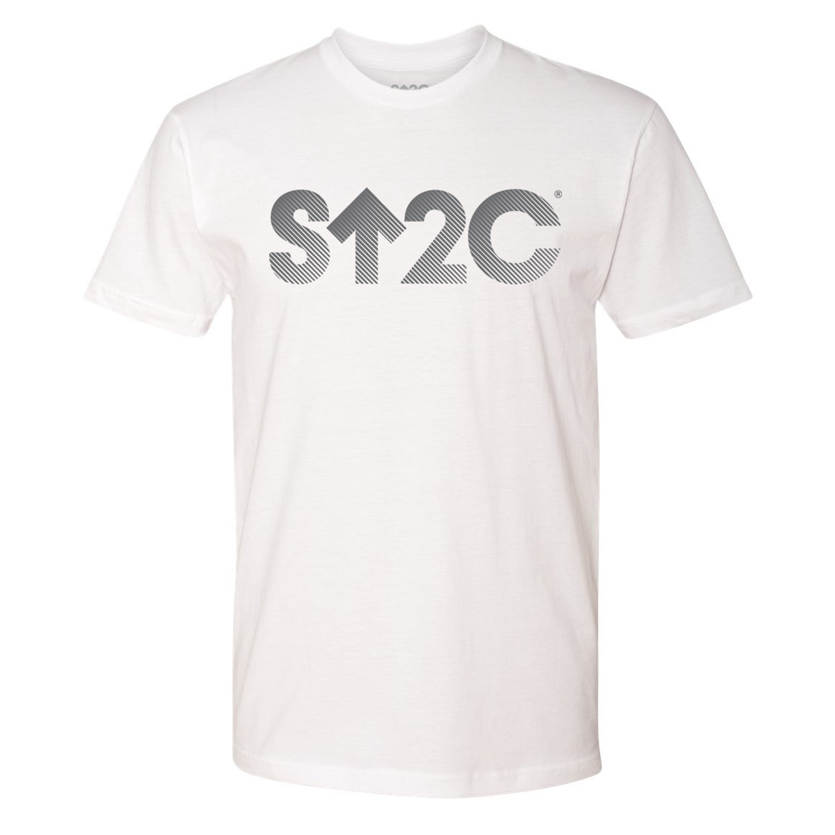 SU2C Short Logo Gradient T-Shirt (White)